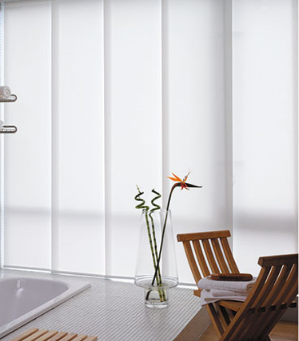 modern, versatile, panel glides, window furnishings